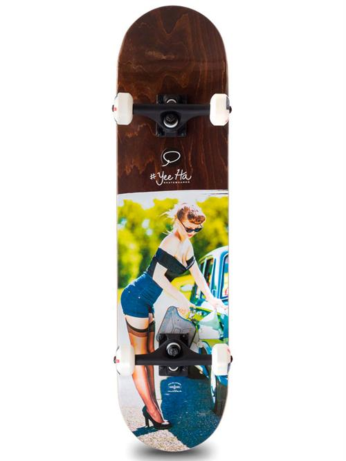 Miller Division Gas Girl Skateboard