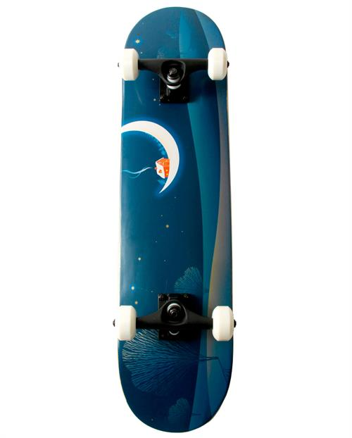 Naked Moon Skateboard