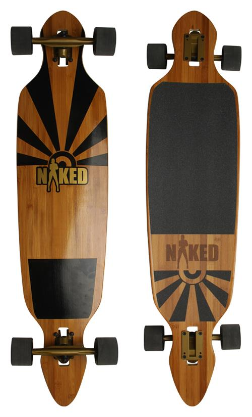 Naked New York Bamboo Longboard