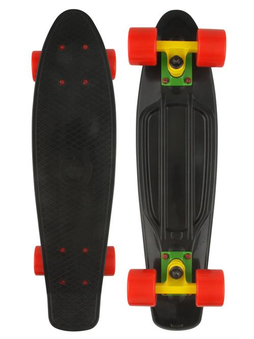 Naked Original Black Deluxe Skateboard