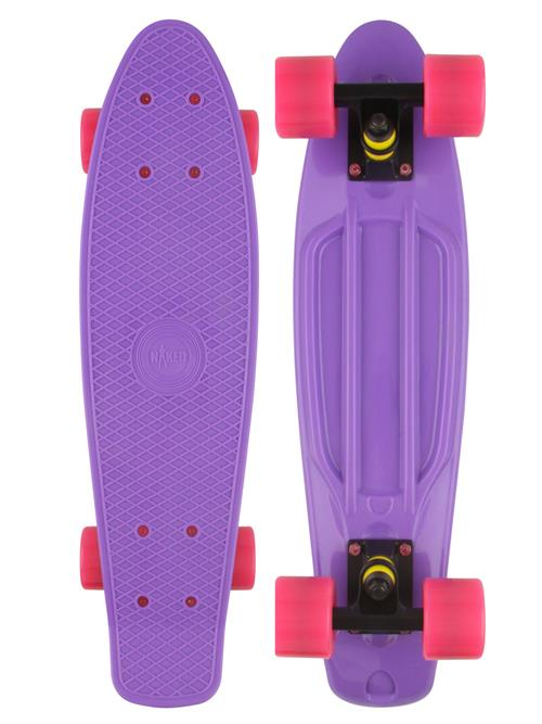 Naked Original Purple Deluxe Skateboard