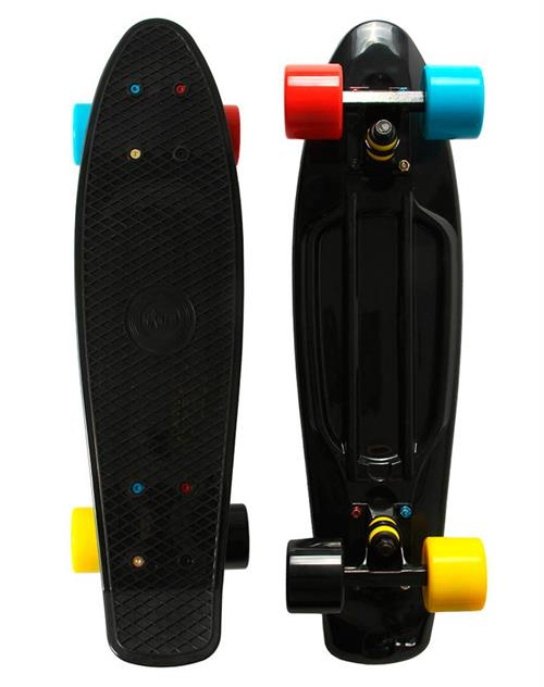 Naked Black Twister Deluxe Skateboard