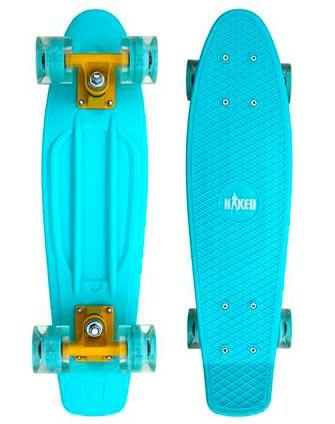 Naked Cruiser Mint Flash/LED skateboard