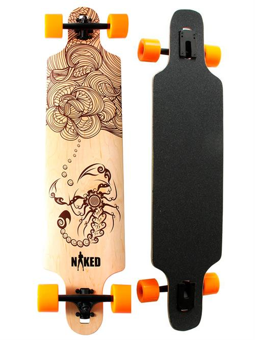 Naked Scorpion Longboard