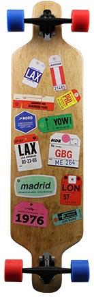 Madrid Trance Tags Longboard