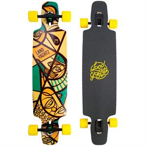 "Landyachtz Drop Carve 40"" Neutical Longboard"