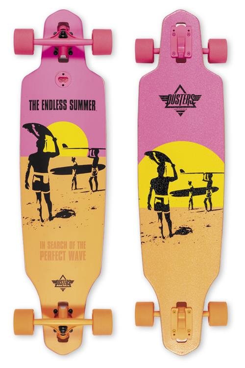 Dusters Endless Summer Wake Longboard