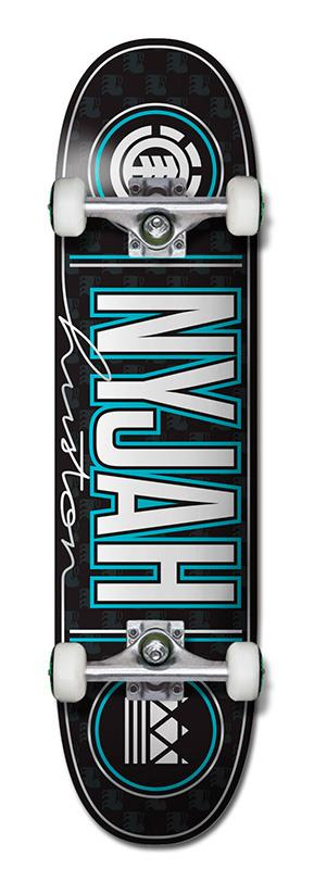 Element Nyjah Signed Skateboard
