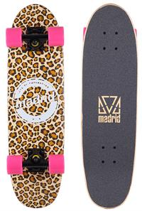 Madrid Leopard Wasp Cruiser Skateboard