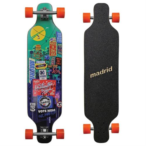 Madrid Dream Billboard Longboard