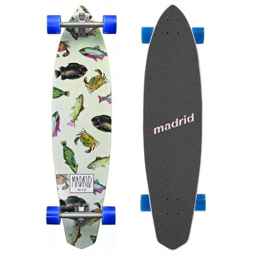 Madrid Dude Fish Longboard