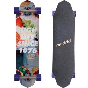 Madrid High Life Since 1976 Longboard