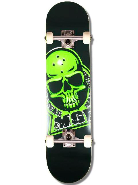 MGP Branded Black Skateboard