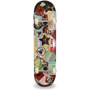 Naked Stickers Skateboard