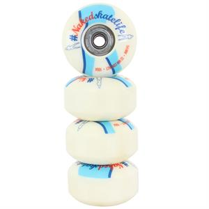 Naked Skate wheel- 54mm 100a - 4pcs