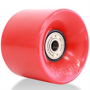 Penny Wheel Red w. abec-7 bearings - 1pcs