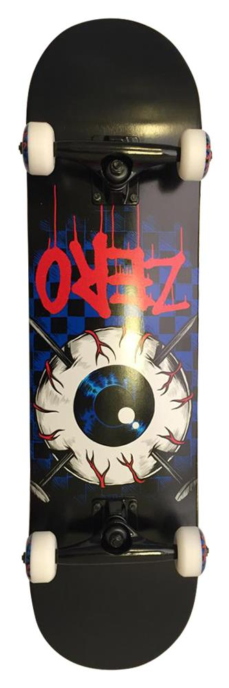 Zero Eyeball Black Skateboard
